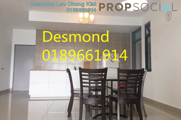 For Rent Condominium at KL Palace Court, Kuchai Lama Freehold Fully Furnished 3R/2B 2k