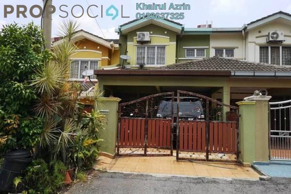 For Sale Terrace at Taman Puncak Jalil, Bandar Putra Permai Freehold Semi Furnished 4R/3B 530k