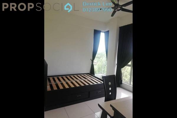 For Sale Condominium at Mahkota Garden Condominium, Bandar Mahkota Cheras Freehold Semi Furnished 4R/2B 415k