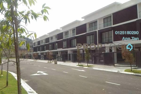 For Sale Superlink at Cheras Vista, Bandar Mahkota Cheras Leasehold Semi Furnished 5R/5B 1.24m