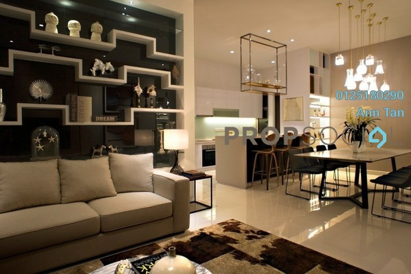 For Sale Serviced Residence at Tria Residences @ 9 Seputeh, Old Klang Road Freehold Semi Furnished 2R/2B 835k