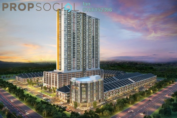 For Sale Serviced Residence at Acacia Residence @ Salak Perdana, Bandar Baru Salak Tinggi Freehold Semi Furnished 3R/2B 295k