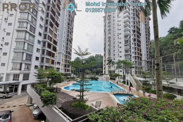 For Sale Condominium at Desa Putra, Wangsa Maju Freehold Semi Furnished 3R/2B 680k