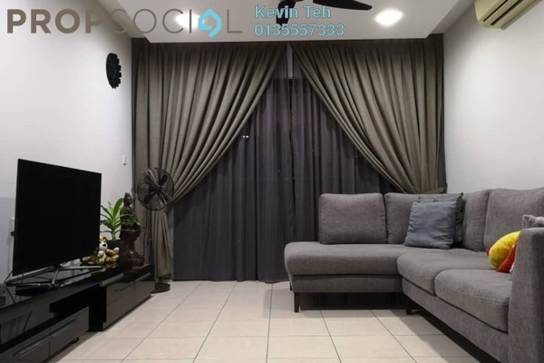 For Rent Condominium at Casa Kiara I, Mont Kiara Freehold Fully Furnished 3R/3B 3k