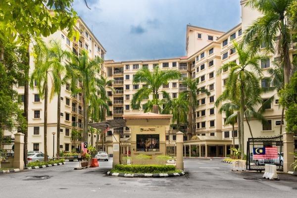 For Sale Condominium at Puncak Prima, Sri Hartamas Freehold Semi Furnished 2R/2B 520k