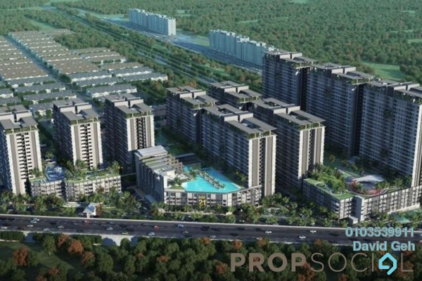For Sale Condominium at BSP 21, Bandar Saujana Putra Freehold Semi Furnished 3R/2B 420k