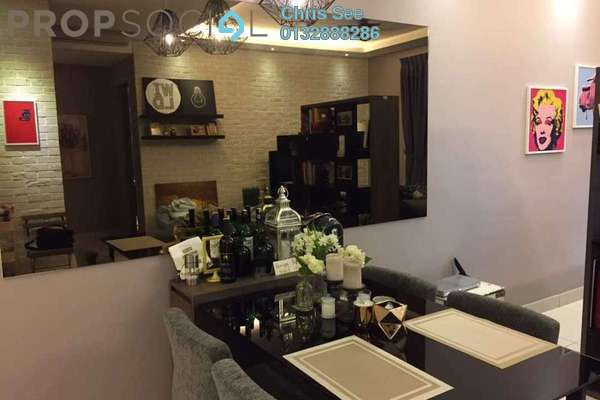 For Sale Condominium at Glomac Damansara Residences, TTDI Freehold Fully Furnished 3R/2B 800k