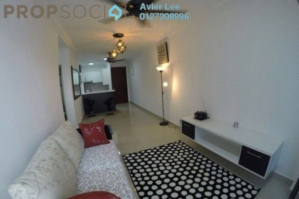 For Rent Apartment at Alam Sanjung, Shah Alam Freehold Fully Furnished 3R/2B 2.4k