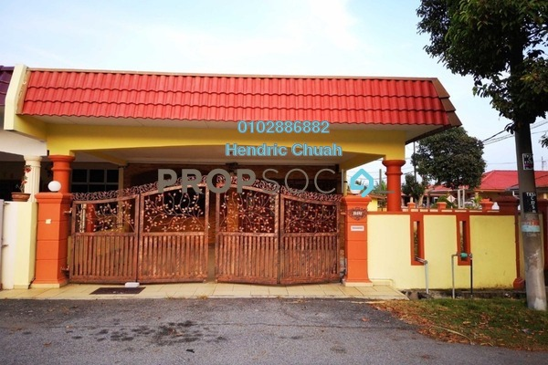 For Sale Terrace at Lukut, Port Dickson Freehold Semi Furnished 3R/2B 350k