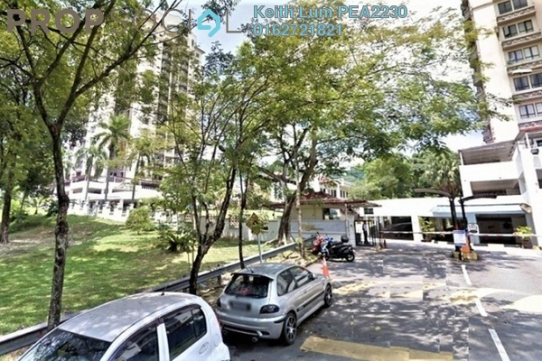 For Sale Condominium at Robson Condominium, Seputeh Freehold Semi Furnished 3R/2B 650k