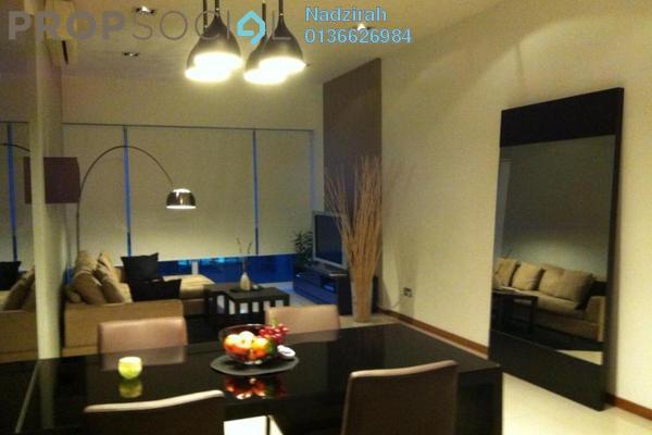 For Rent Condominium at Suasana Sentral Loft, KL Sentral Freehold Fully Furnished 2R/2B 5k