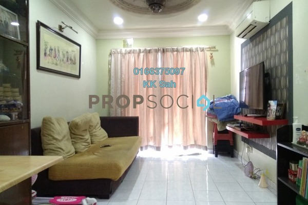 For Sale Apartment at Sri Ria Apartment, Kajang Freehold Semi Furnished 3R/2B 260k