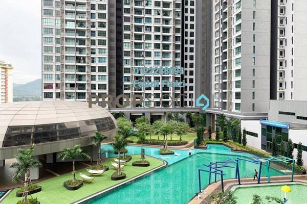 For Rent Condominium at LakePark Residence @ KL North, Selayang Freehold Fully Furnished 3R/2B 1.9k