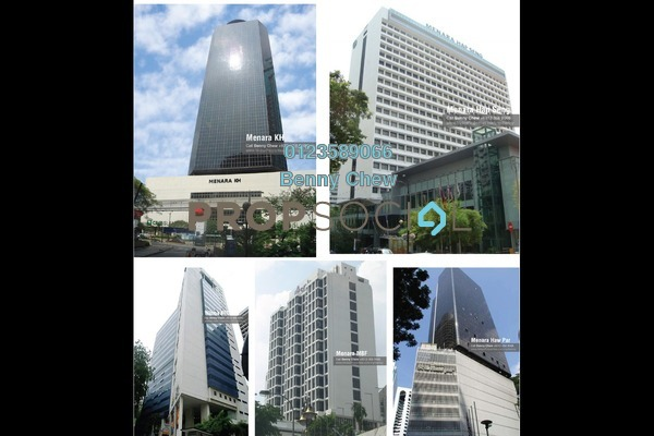 For Rent Office at Bukit Bintang City Centre, Pudu Freehold Semi Furnished 0R/0B 9k