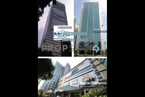 For Rent Office at Jalan Imbi, Bukit Bintang Freehold Semi Furnished 0R/0B 11k