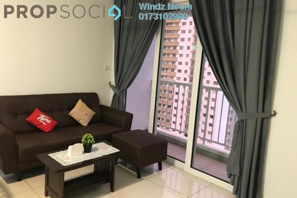 For Rent Condominium at Court 28 @ KL City, Sentul Freehold Fully Furnished 2R/2B 2.1k