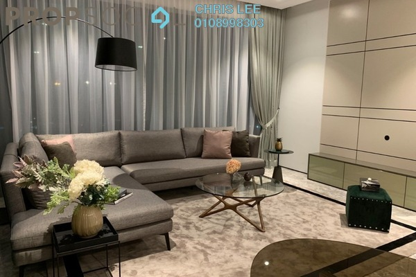 For Rent Condominium at Four Seasons Place, KLCC Freehold Fully Furnished 3R/4B 22k