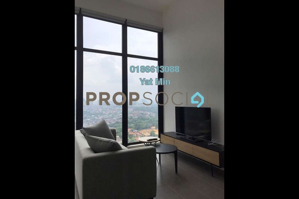 For Sale Serviced Residence at The Establishment, Brickfields Freehold Fully Furnished 1R/1B 775k