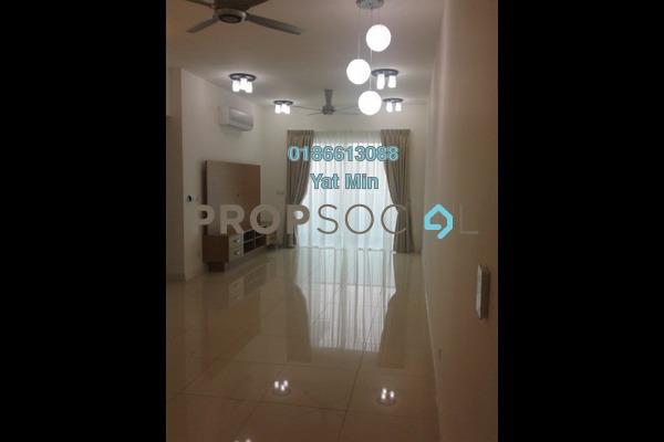 For Rent Condominium at Surian Residences, Mutiara Damansara Freehold Semi Furnished 3R/4B 3.6k