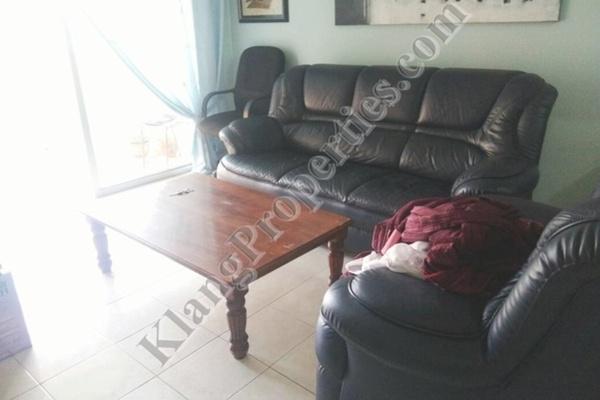 For Rent Apartment at Bayu Villa, Klang Freehold Fully Furnished 3R/2B 1.1k