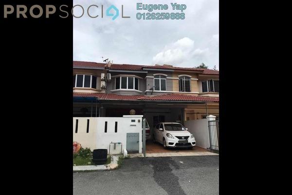 For Sale Terrace at Taman Sri Putra, Sungai Buloh Freehold Semi Furnished 4R/3B 500k