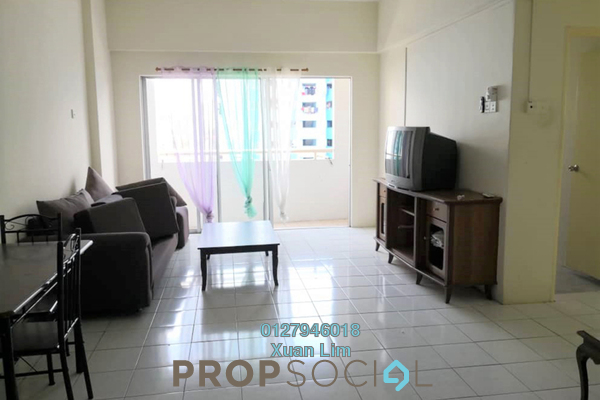 For Rent Apartment at Jalil Damai, Bukit Jalil Freehold Semi Furnished 3R/2B 1.2k