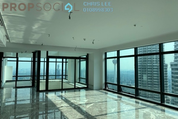 For Sale Condominium at Four Seasons Place, KLCC Freehold Semi Furnished 5R/6B 25.5m