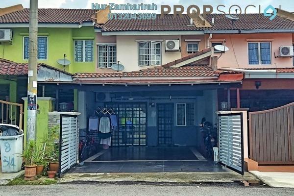 For Sale Terrace at Saujana Impian, Kajang Freehold Unfurnished 3R/2B 490k