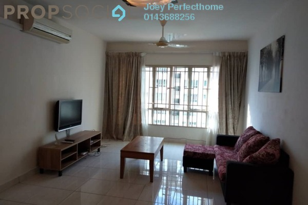 For Rent Condominium at Green Avenue, Bukit Jalil Freehold Semi Furnished 3R/3B 1.59k