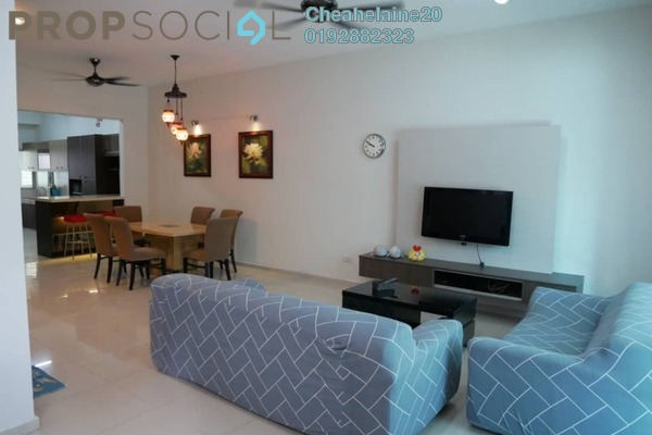 For Rent Terrace at Sutera Damansara, Damansara Damai Freehold Fully Furnished 4R/4B 2.5k