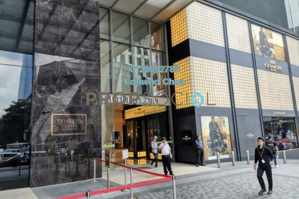 For Rent Serviced Residence at Pavilion Suites, Bukit Bintang Freehold Fully Furnished 2R/2B 8k
