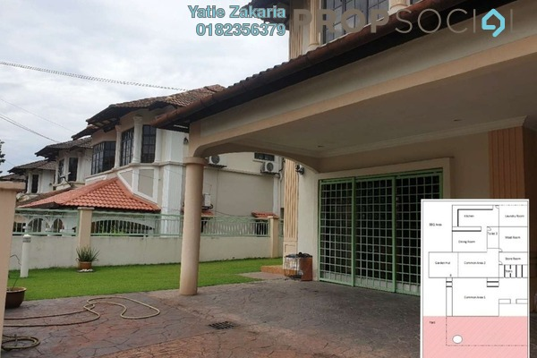 For Sale Semi-Detached at BRP 5, Bukit Rahman Putra Freehold Fully Furnished 5R/5B 1.2m
