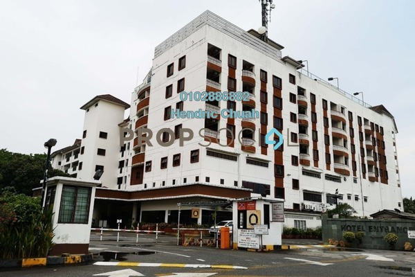 For Sale Serviced Residence at Bayu Beach Resort Hotel, Port Dickson Leasehold Fully Furnished 2R/2B 350k
