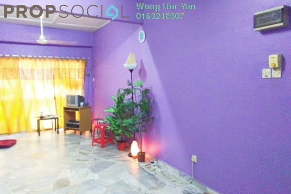 For Sale Apartment at Taman Puchong Intan, Puchong Freehold Fully Furnished 2R/1B 90k