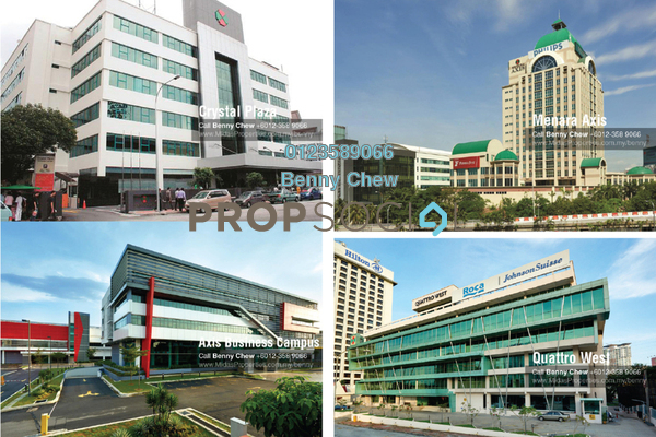 For Rent Office at Section 52, Petaling Jaya Freehold Semi Furnished 0R/0B 9k