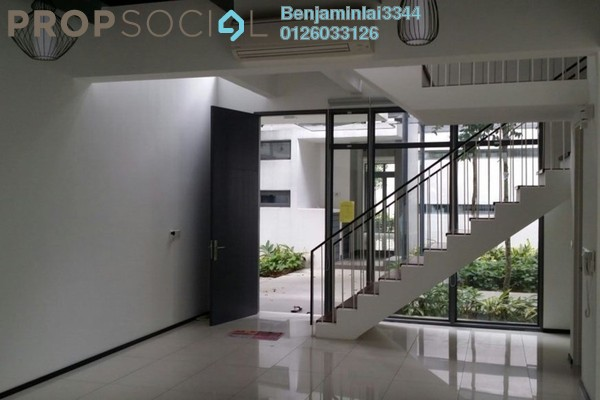 For Sale Terrace at The Breezeway, Desa ParkCity Freehold Semi Furnished 3R/4B 2.85m