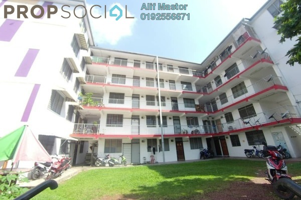 For Rent Apartment at Section 6 , Wangsa Maju Freehold Fully Furnished 2R/1B 1.1k