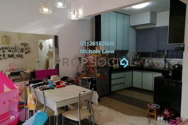 For Sale Condominium at Petaling Indah, Sungai Besi Leasehold Semi Furnished 2R/2B 270k