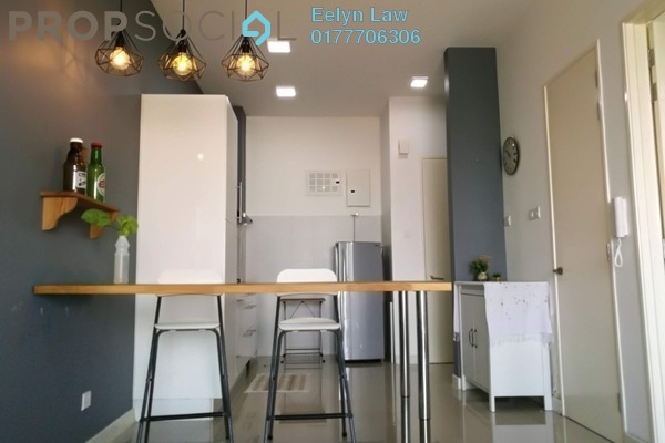 For Rent Condominium at Desa Green Serviced Apartment, Taman Desa Freehold Semi Furnished 1R/1B 1.5k