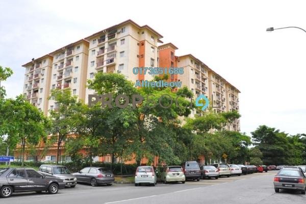 For Rent Apartment at Sinar Magna, Kepong Freehold Unfurnished 3R/2B 800translationmissing:en.pricing.unit