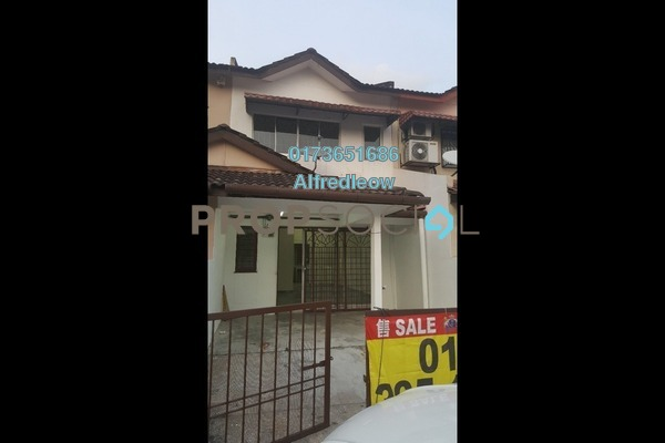 For Rent Terrace at IOI Boulevard, Bandar Puchong Jaya Freehold Semi Furnished 3R/2B 1.1k