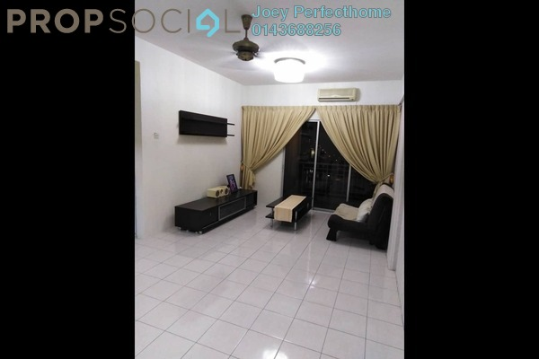 For Sale Apartment at Vistana Mahkota, Bandar Mahkota Cheras Freehold Semi Furnished 3R/2B 295k