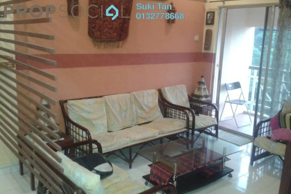 For Rent Apartment at Vista Saujana, Kepong Freehold Fully Furnished 3R/2B 1.3k
