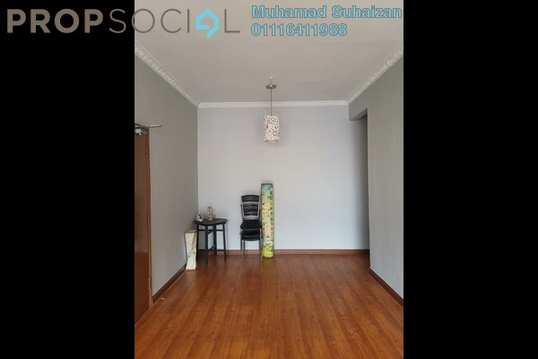 For Rent Apartment at Sri Melor Apartment, Ukay Freehold Semi Furnished 3R/2B 1.02k