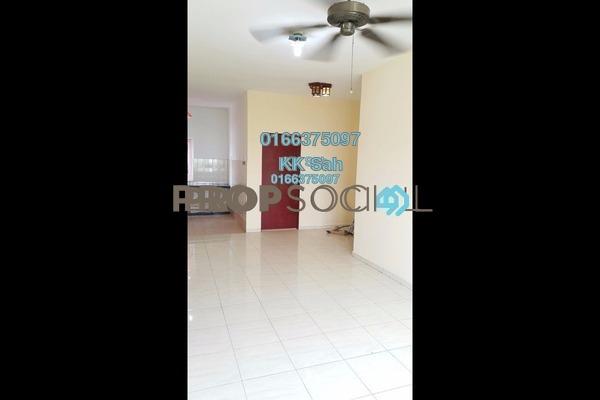 For Sale Apartment at Segar Perdana Apartment, Cheras Freehold Semi Furnished 3R/2B 208k
