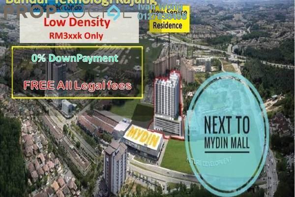 For Sale Condominium at Bandar Teknologi Kajang, Semenyih Freehold Unfurnished 3R/2B 298k