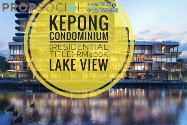 For Sale Condominium at Mizumi Residences, Kepong Leasehold Unfurnished 3R/2B 399k