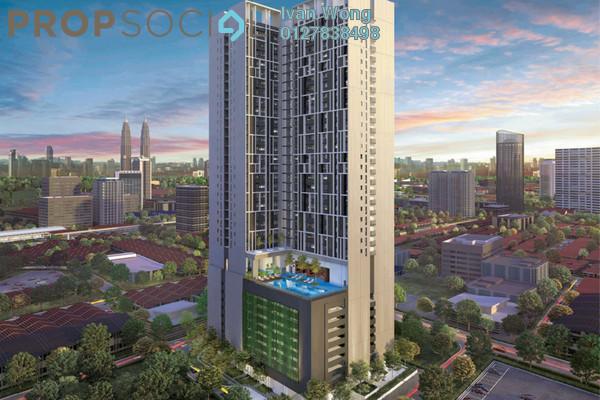 For Sale Condominium at Chambers Kuala Lumpur, Chow Kit Freehold Semi Furnished 1R/1B 379k