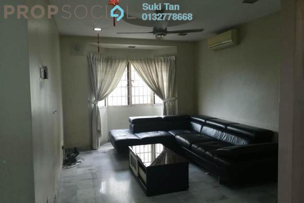 For Rent Apartment at Aman Puri, Kepong Freehold Semi Furnished 3R/2B 1.25k