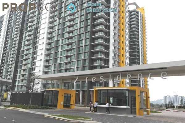 For Sale Condominium at The Z Residence, Bukit Jalil Freehold Semi Furnished 3R/2B 620k
